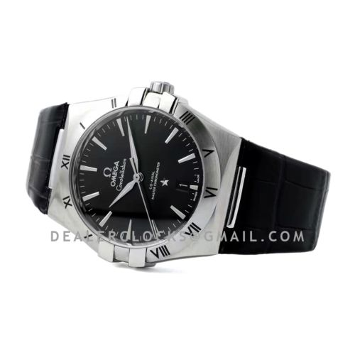 Constellation Co-Axial Master Chronometer 39mm Black Dial