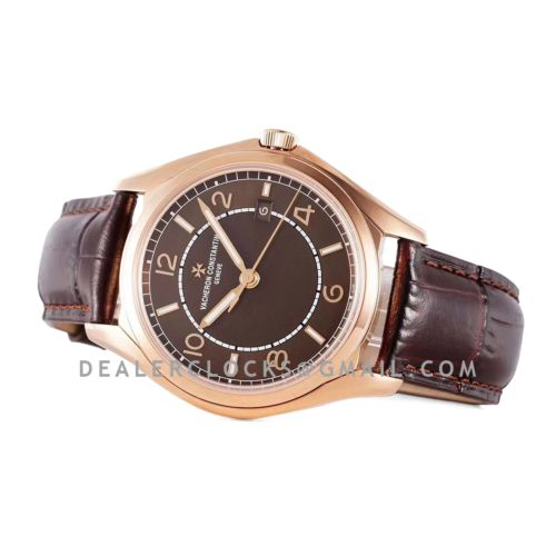 Fiftysix Brown Dial in Pink Gold Ref: 4600E