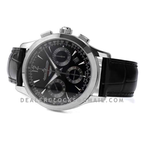 Master Control Chronograph Black/Grey Dial with in Steel