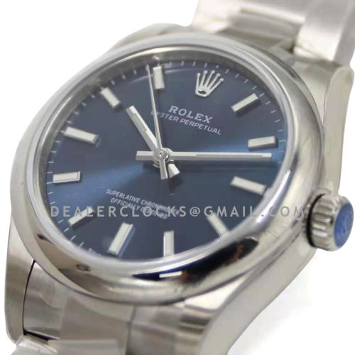 Oyster Perpetual 31mm Bright Blue Dial 277200