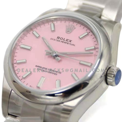 Oyster Perpetual 31mm Candy Pink Dial 277200