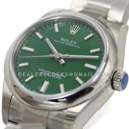 Oyster Perpetual 31mm Green Dial 277200