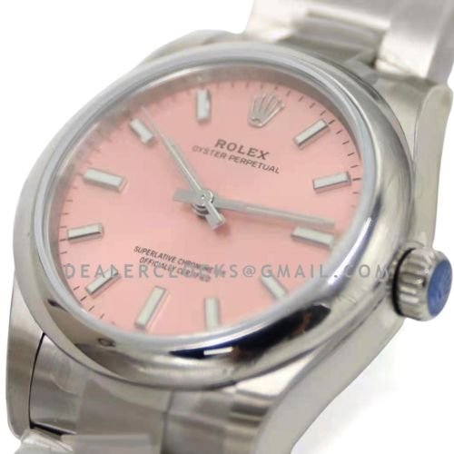 Oyster Perpetual 31mm Pink Dial 277200