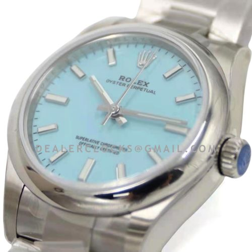 Oyster Perpetual 31mm Turquoise Blue Dial 277200