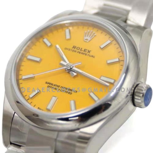 Oyster Perpetual 31mm Yellow Dial 277200