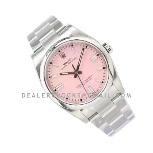 Oyster Perpetual 36mm Candy Pink Dial 126000