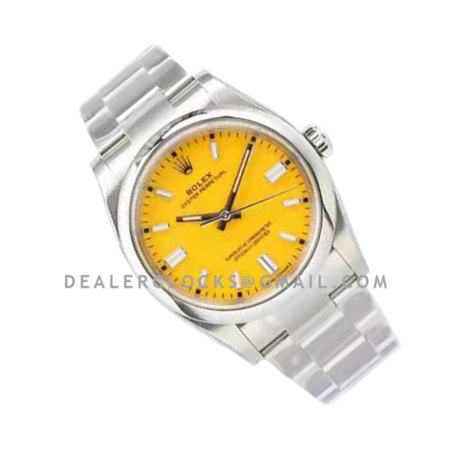 Oyster Perpetual 36mm Yellow Dial 126000