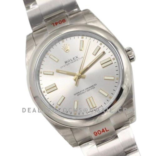 Oyster Perpetual 41mm Silver Dial 114300