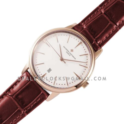 Patrimony White Dial in Pink Gold Ref: 85180