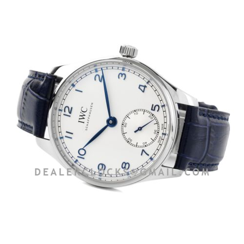 Portugieser Automatic 40 IW358304 White Dial in Steel