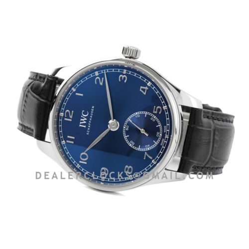 Portugieser Automatic 40 IW358305 Blue Dial in Steel