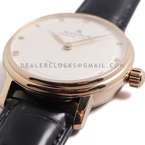 Répétition Minutes White Dial in Rose Gold