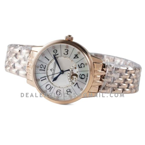 Rendez-vous Classic Night & Day 34mm MOP Dial in Rose Gold on Bracelet