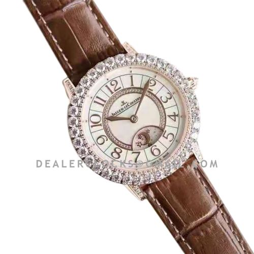 Rendez-vous Jewellery Dazzling Night & Day 36mm in Pink Gold Ref: 3432570