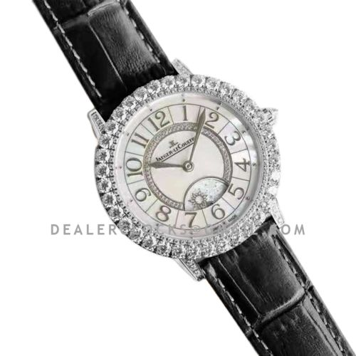 Rendez-vous Jewellery Dazzling Night & Day 36mm in White Gold Ref: 3433570