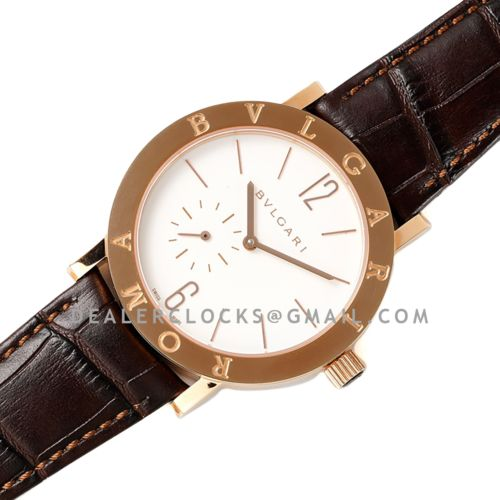 Solotempo White Dial in Rose Gold