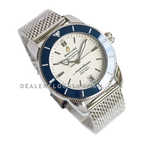 Superocean Heritage II B20 Automatic 42mm in White Dial on Blue Bezel
