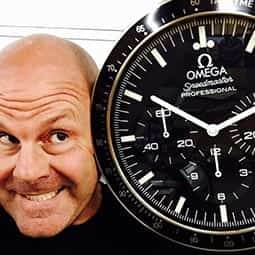 Omega Speedmaster Dealer Wall Clock